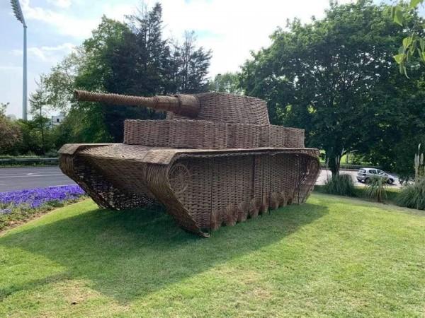 VE dayy, chelmsford county council,ww2, world war II, Essex weaver, Panzer, Shermon.