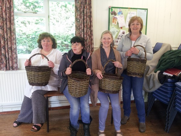 beginners baskets weaving, willow,essex